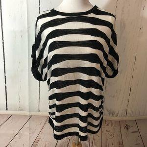 Dress Barn Thin Knit Short Sleeve Sweater